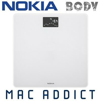 NOKIA (Withings) Body Bluetooth Smart Scale WHITE | BMI | Weight Tracking