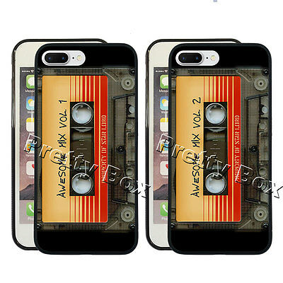 Guardians of the Galaxy Vol. 2 Tape Phone Case Fit for iPhone & Samsung