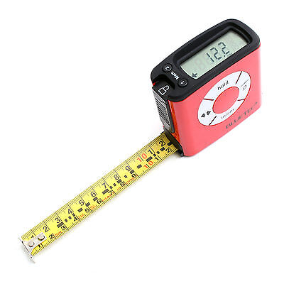 Digital Tape Measure Electronic LCD Display 5.0M 16 Feet KOREA