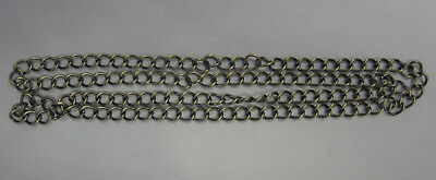 1 Metre New Oval Link Twisted Beading Chain in Bohemian Gold Tone 8x10mm TAR281