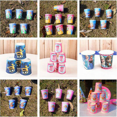 Paper Cups Cartoon Pawed Patrol Dog Kids Birthday Party Party Decoration Kids