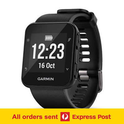 Garmin Forerunner 35 - Black | GPS Optical HR Smart Watch FREE Postage