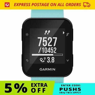 Garmin Forerunner 35 - Frost Blue | GPS Optical HR Smart Watch FREE Postage