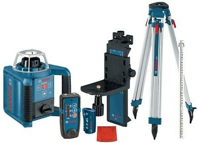 Bosch 1000 ft. Self-Leveling Rotary Laser Level with Layout Beam Complete Kit