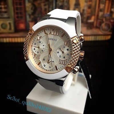 AUTHENTIC GUESS LADIES' ROCKSTAR WATCH Brand New RRP:$379