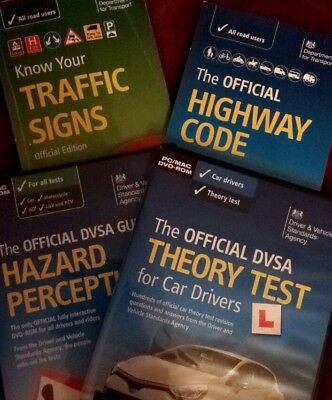 Complete Car Theory Test Pack Worth £35