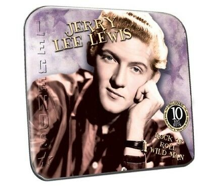 Rock 'N' Roll Wild Man - Jerry Lee Lew (2010, CD NEUF) Collector's TIN Packaging