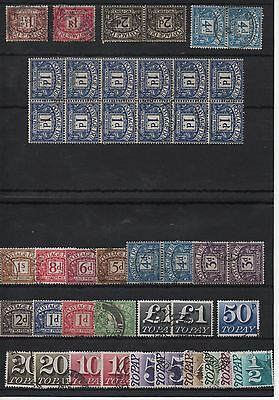 UK - Postage Due stamps