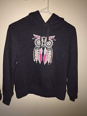 Girls Ghanda Hoodie With Owl Size 9-10