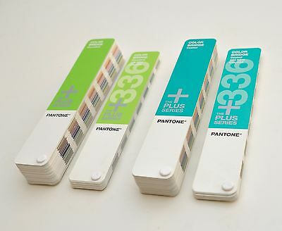 Pantone Plus Series Color Bridge Coated and Uncoated & 336 New Colors