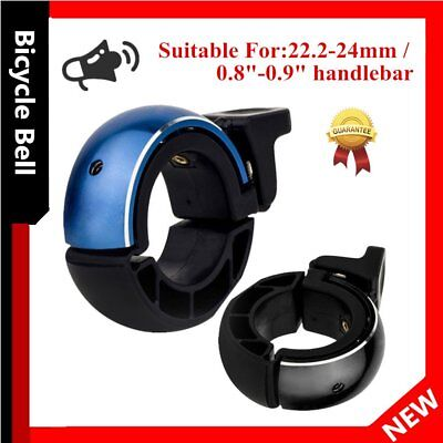 Aluminum Alloy Loud Horn Sound Cycling Bicycle Bike Handlebar Invisible Bell P6