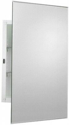 Zenith 16 In. W X 26 In. H Frameless Recessed Or Surface Mount Medicine  Cabinet