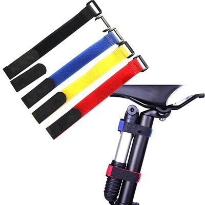 Universal Battery Strap Bicycle Road Bike Band Straps Pump Belt Sport Hot 5PCS