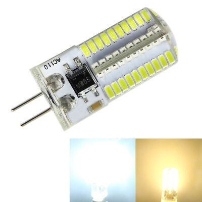 Bi-Pin G4 Dimmable Chandelier 80-3014 SMD LED Light bulb White/Warm AC 120V/220V