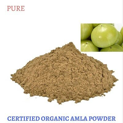 100 Gram Certified Organic Amla powder - Emblica officinalis - Free Shipping