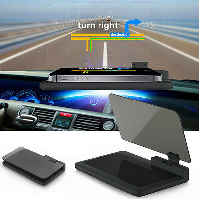 """H6 6"""" Support Auto Holder écran HUD Head Up Display Projector Pour Phone GPS"""