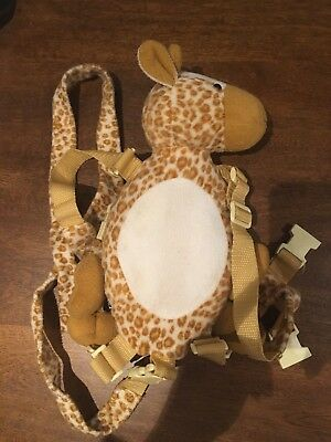 Giraffe Safety Harness Strap Baby Kid Toddler Walking Cosplay Backpack Reins Bag