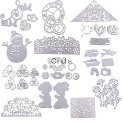 DIY Metal Cutting Dies Stencil Scrapbook Embossing Stencil Handcraft Paper Cards