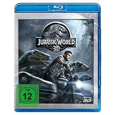 Jurassic World (Blu-ray 3D, + Blu-ray 2D) [Blu-ray Disc]