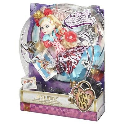 Ever After High Way Too Wonderland Apple White Brand New In Box Cjf42