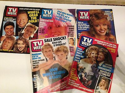 TV Week magazines 1980's