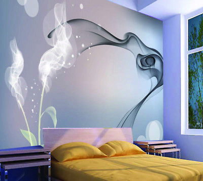 White Ribbon 3D Full Wall Mural Photo Wallpaper Printing Home Kids Decoration