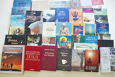 "Bücherpaket ""Religion"", Christentum, 38 Bücher"