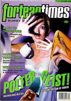 FORTEAN TIMES MAGAZINE ISSUE 116 November1998