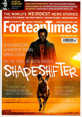 Fortean Times Magazine Issue 289 June 2012