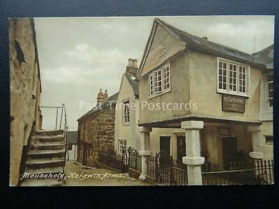 Cornwall MOUSEHOLE Keigwin Arms - Old Postcard by Frith 84250