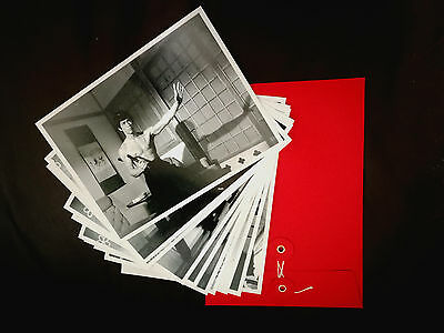 Fist Of Fury: 10 Black And White Bruce Lee Promo Pictures Set