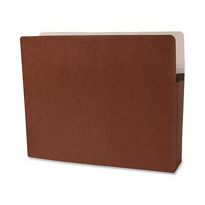 """Sparco Accordion File Pocket,Letter,3-1/2"""" Expansion,25/BX,Redrope 95002"""
