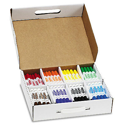 Prang Washable Markers Eight Assorted Colors 200/Carton 80613