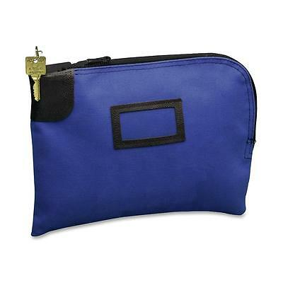 Pm Company Nylon Night Deposit Bag Cobalt Blue 04629