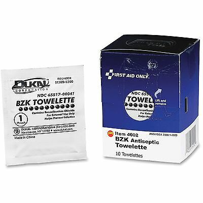 First Aid Only, Inc Antiseptic Towelettes Packets 10/BX White FAE4002