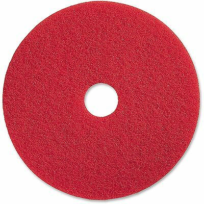 "Genuine Joe Spray Buffing Floor Pads 20"" 5/CT Red 90420"
