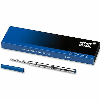 Montblanc U.S.A. Ballpoint Pen Refill Broad Size Pacific Blue 105149