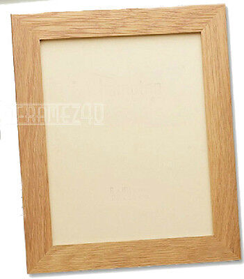 Photo Frame Poster Size Picture Frame Wooden Effect Oak Black Walnut White