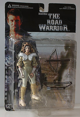 "Mad Max-THE ROAD WARRIOR-Figur"" WARRIOR WOMAN"" Pappagallo's tribe-new-very rare"