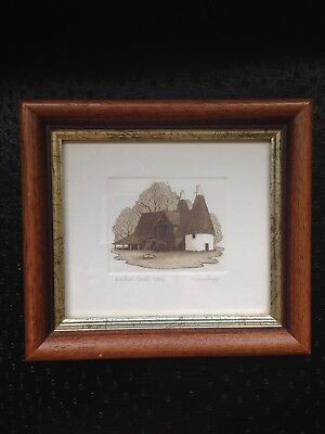 """Framed Picture - Limited Edition 6""""x5.5"""""""