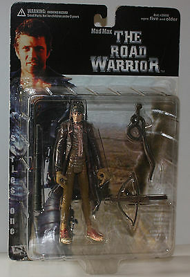 "Mad Max-THE ROAD WARRIOR-Figur"" Gyro Captain"" Wasteland-Vintage-new-very rare"