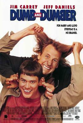 Dumb And Dumber Bathroom Jim Carrey Movie Funny Poster Wall Decor X-569