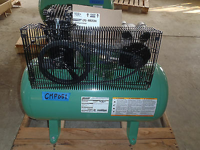 1 Phase, Electrical, Horizontal, 2HP, Stationary Air Compressor