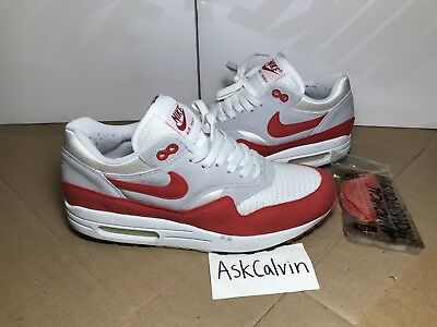 best loved 01fd1 aefe6 2005 Nike Air Max 1 Classic Sport Red Size 9 History Of Air 313097-161