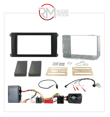 Connects2 CTKPO02 Porsche Cayenne 02-07 Double Din Stereo Facia Fitting Kit