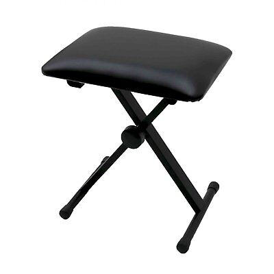NEW! Keyboard Piano Bench Stool Seat Chair Throne Adjustable Portable