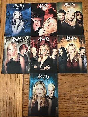 2017 Buffy The Vampire Slayer Ultimate Collectors Set Series 2 Montage Set