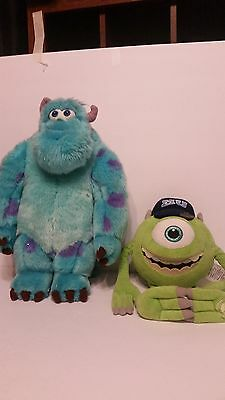 MONSTERS INC SULLY And Mike Plush Set Monsters University