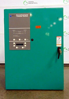 USED Cummins 0TPCB-5627323 225 Amp Automatic Transfer Switch Utility to Genset