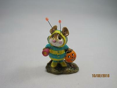 Wee Forest Folk Bee-Dazzled Green & Yellow Pink Flashlight - Retired WFF Box